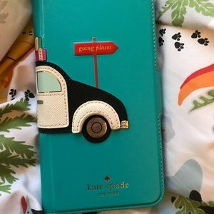 🌻Kate Spade ♠️- Iphone 7p/8p card holder case❤️